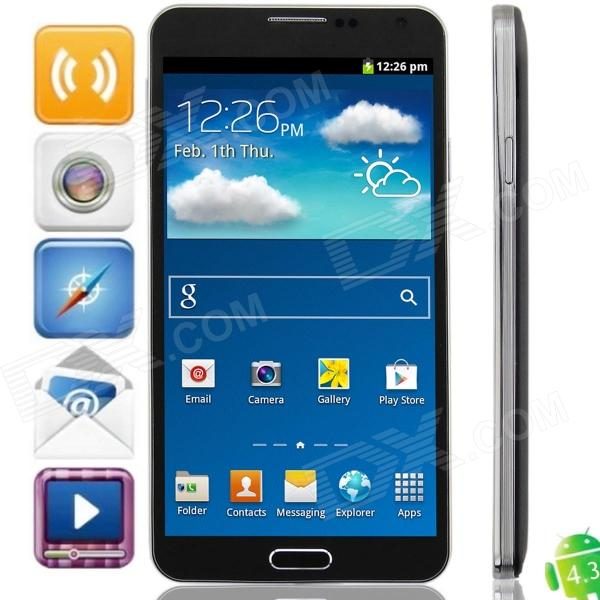 Z.doxio SM-N900 SC6820 Android 4.3 GSM Bar Phone w/ 5.5