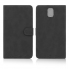 ENKAY Wallet Style Protective PU Leather Case for Samsung Galaxy Note III N9000 - Black