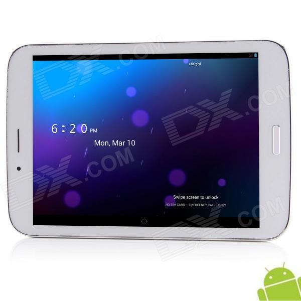 "AMPE A82(A82G) Deluxe Edition 7.85"" IPS Android 4.2.2 Dual Core 3G telefon ringe Tablet PC med GPS"