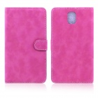 ENKAY Wallet Style Protective PU Leather Case for Samsung Galaxy Note III N9000 - Rose