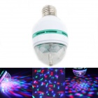 TLSC WT2 E27 3W 100lm 3-LED RGB Light Stage Lamp - White + Blue (85~260V)
