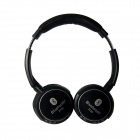 X720 Bluetooth V2.1 + EDR Stereo Headphones w/ A2DP / Microphone / Remote Control / TF - Black