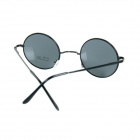 Retro UV400 Protection Sunglasses - Black