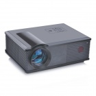 "PORTWORLD PH500+ 5"" LCD HD Home Theater Projector w/ AV / HDMI / Smart Interaction projection -Black"
