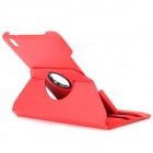 Flip-open PU Leather Case w/ Holder + 360' Rotating Back for Samsung Galaxy Tab Pro - Red