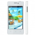 "A66+ Capacitive Touch Screen Android 2.3 Bar Phone w/ 4.0"" / Bluetooth / Wi-Fi - White"