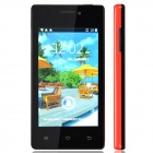 "A66+ Capacitive Touch Screen Android 2.3 Bar Phone w/ 4.0"" / Bluetooth / Wi-Fi - Red + Black"