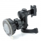 CF02+65Z Universal 360 Degree Rotation Suction Cup Car Air Vent Holder for Cell Phone - Black