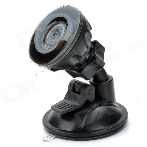 XZT01 Universal 360 Degree Rotation Plastic Car Mount Holder for Mobile Phone - Black levett caesar prostate massager for 360 degree rotation g spot