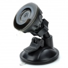 XZT01 Universal 360 Degree Rotation Plastic Car Mount Holder for Mobile Phone - Black