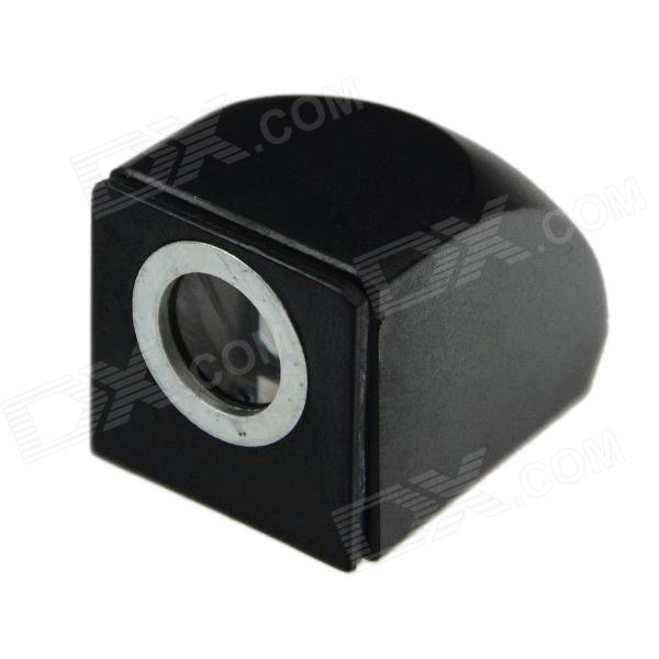 Magnetic Suction Periscope Head External Camera Corner Mirror for Mobile Phone - Black