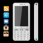 "SIMTELEP N9 MTK6572 Dual Core Andriod 4.2 Phone w/ 3.5"", K9 Keyboard, 1GB RAM, 4GB ROM - White"