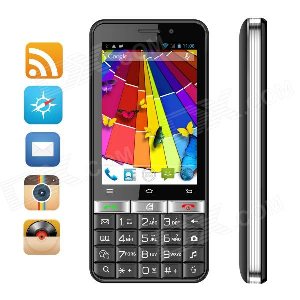 SIMTELEP N9 MTK6572 Dual Core Android 4.2 Phone w/ 3.5