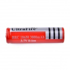 UltraFire FY-300 18650 3.7V 400mAh Li-ion Rechargeable Battery w/ US Plugss Charger - Black + Red
