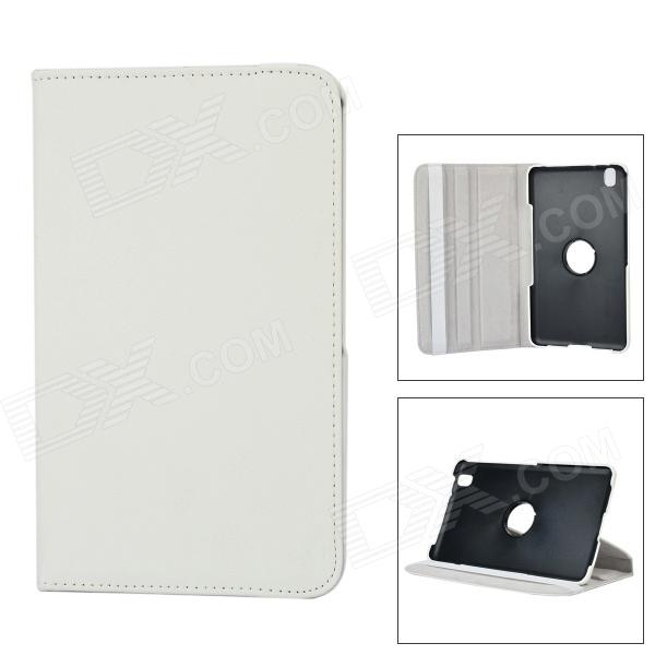 Flip-open PU Case w/ 360' Rotating Back + Holder + Screen Guard for Samsung Galaxy Tab 3 Lite T110 stylish flower pattern flip open pu leather case w holder 360 rotating back for ipad 2 3 4