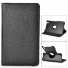 Stylish Flip-open PU Case w/ Holder + 360' Rotating Back for Samsung Galaxy Tab Pro 8.4 - Black