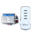 SENBALL SQ-102 DIY AC 200~245V 2-CH Digital Remote Control Switch w/ Wiring Diagrams / Instructions