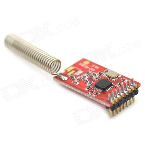 MaiTech 21.3 x 12mm CC1101 Wireless Module with Antenna - Red