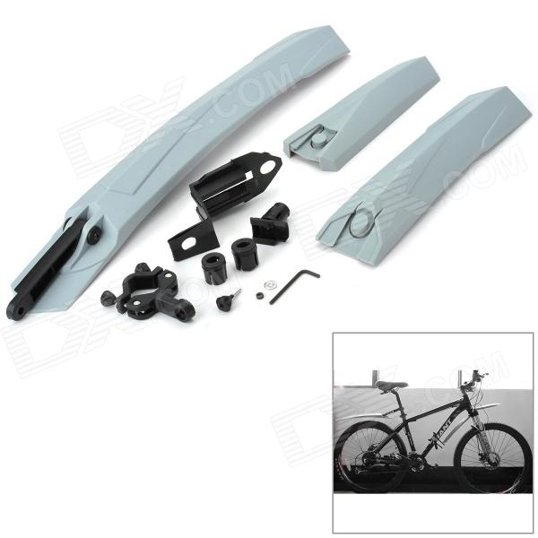JSZ Bike Bicycle Quick Release Type Splash Guard - Grey + Black