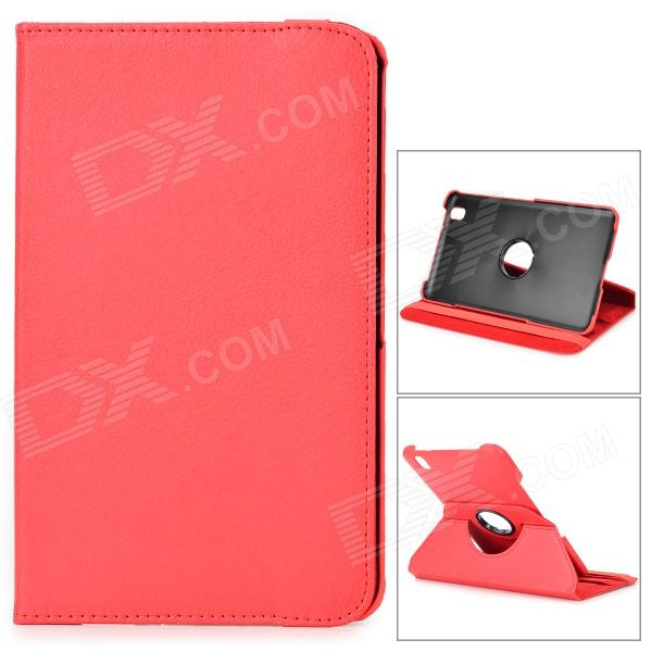 360 Degree Rotary Flip Open PU Leather Case w/ Stand / Stylus for Samsung Galaxy Tab Pro 8.4 T320 protective pu leather flip open stand case w stylus for samsung galaxy tab pro 8 4 t320 white