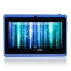 "YEAHPAD BLUE 7.0"" Android 4.2 Dual Core Tablet PC w/ 512MB RAM, 8GB ROM, Dual Camera - Deep Blue"