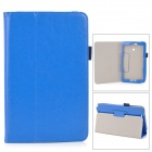 Protective Flip Open PU Case w/ Stand + Pen Holder for Asus VivoTab Note 8 / M80TA - Deep Blue