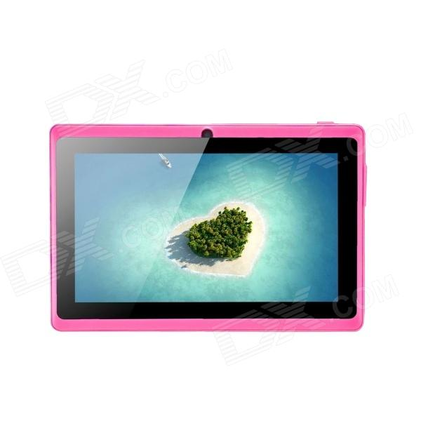 ACSON A23 7 Android 4.2 Dual Core Tablet PC w/ 512MB RAM, 4GB ROM, Dual Camera, TF - Black + Pink