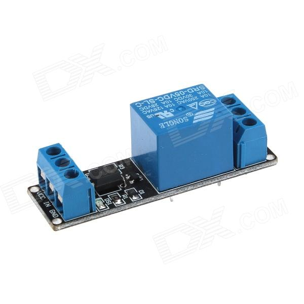 XD RM01 DIY 5V 1-Channel Relay Control Module w/ Opto-isolator for Arduino - Blue + Black (2 PCS) smoke sensor module w relay output green black