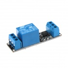 XD RM01 DIY 5V 1-Channel Relay Control Module w/ Opto-isolator for Arduino - Blue + Black (2 PCS)