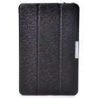 Protective PU Leather Case Cover Stand for Dell Venue 8 Pro - Black
