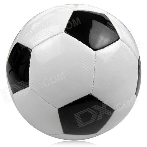 Size 5 PU Football - Black + White