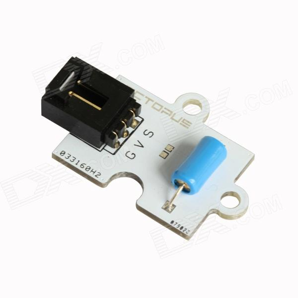 ChuangZhuo Octopus Vibration Sensor I2C / Uart Interface / G-GND / V-VCC / G-GND / S-D3 / 2 LED / 5V modules plastronics ic test socket adapter 20qn40t13030 0 4mm pitch for qfn20 mlp20 mlf20 package free shipping