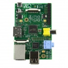 Raspberry Pi Mode B Project Board (Made in the UK, RS Ver) - Green