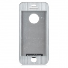 Protective Aluminum Alloy Full Body Case for IPHONE 5 / 5S - Silver
