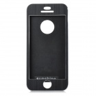 Protective Aluminum Alloy Full Body Case for IPHONE 5 / 5S - Black