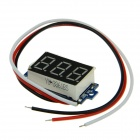 "Produino ST Master Chip 0.36"" LED DC 3-Digital Display Digital Voltmeter- Black (DC 0~100V)"