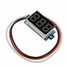 "Produino general ST chip 0.36 ""LED DC Display 3-Digital voltímetro digital-Negro (DC 0 ~ 100V)"