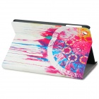 Protective PU Leather + Plastic Case w/ Auto Sleep Function for IPAD MINI