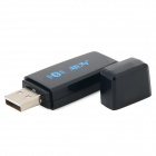 juwei USB 2.0 Wireless Bluetooth V2.1 Receiver - Black