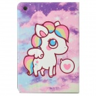 Little Deer Pattern Protective PU Leather + Plastic Case w/ Auto Sleep Function for IPAD MINI