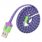 USB to Micro USB Sync Data/Charging Woven Cable for Samsung / Xiao / HTC (95cm)
