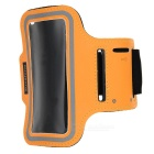 Universal Sports Neoprene + PVC Armband for IPHONE 4 / 4S / 5 / 5C / 5S - Yellow + Black