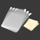 High Quality PET HD Screen Protector for Samsung Galaxy Tab 3 Lite T110 - Translucent White (3 PCS)