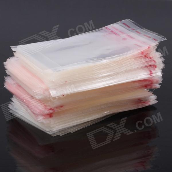 CM01 Self-adhesive Seal PE Packaging Bags - Transparent (1000 PCS)