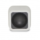 D94B Wireless Bluetooth Speaker Bærbar Stereo Audio m / 3.5mm Aux-In, TF Card, Mic - Hvit