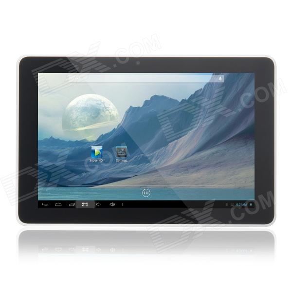 S905 9.0 Screen HD Dual Core Android 4.2 Tablet PC w/ 1GB RAM, 8GB ROM, HDMI - Black + White