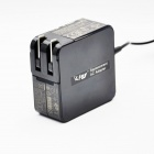 Lidy AC Power Adapter Caricabatteria per Asus UX21 / UX3 / 1UX31E / UX31K / UX32 / UX42 - nero (US spine)