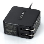 LIDY AC Power Charger Adapter for Asus UX21A / UX31A / UX32A - Black (US Plugs / AC 100~240V)