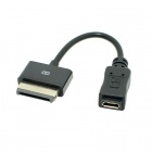 CY GT-102 Micro USB Female to 40P Charger Data Cable for EeePad Transformer TF101 TF201 SL101 Prime