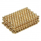 CHEERLINK 3mm DIY Magnet Balls Educational Toys Set - Golden (432 PCS)